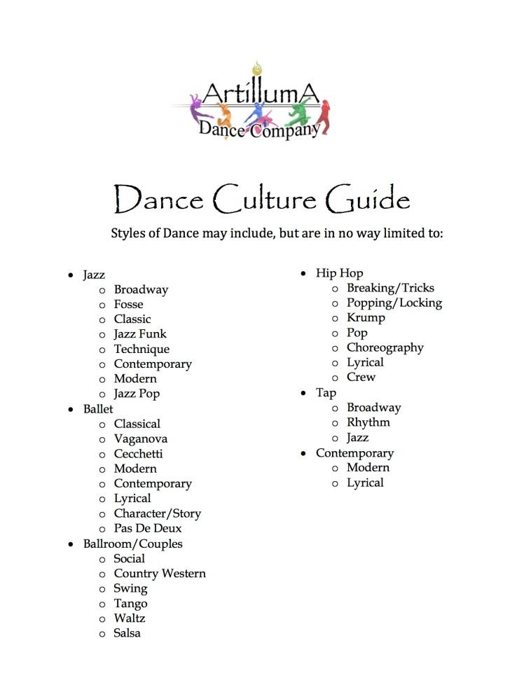 Dance Culture Guide2